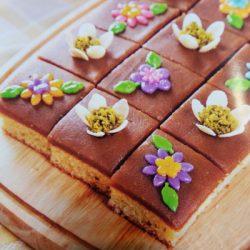 آموزش تهیه حلوا کیک ، دسر مجلسی
