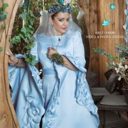عکسهای اولین سالگرد عروسی بهاره رهنما و همسر دومش / ۷ عکس