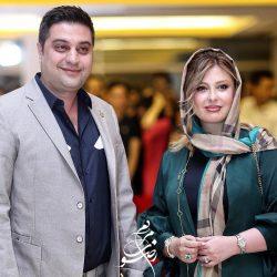 عکسهای نیوشا ضیغمی و همسرش در هجدهمین جشن حافظ