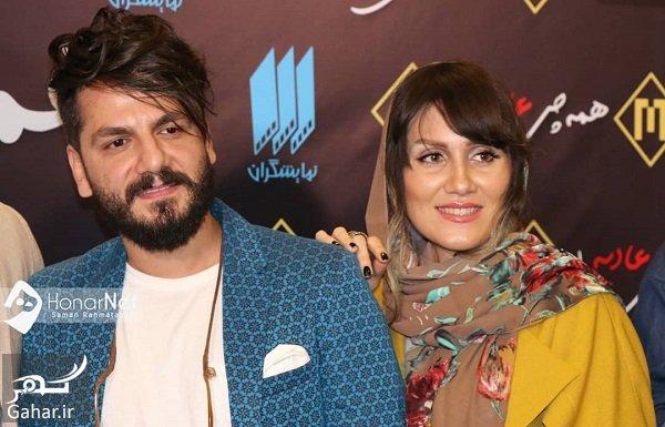 saman.rahmatabadi 38443959 220521535260698 3156514269198024704 n عباس غزالی و همسرش در اکران خصوصی همه چی عادیه / 3 عکس