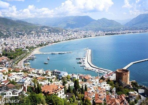 Antalya مهاجرت به ترکیه و گرفتن اقامت دائم از طریق خرید ملک