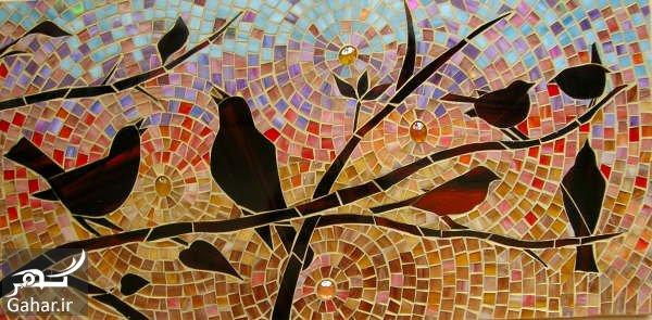 Mosaic 69 هنر نقاشی موزاییک چیست؟