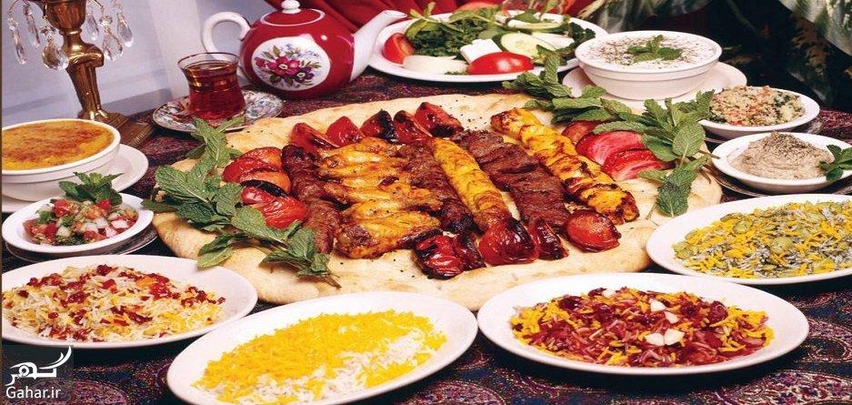 Persian Cuisine foods هفت روش صرفهجویی در مهمانیها