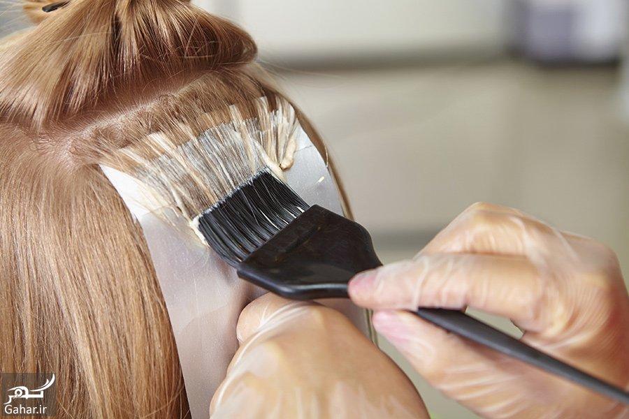 hair coloring 2 نکات طلایی و راهنمای رنگ کردن مو