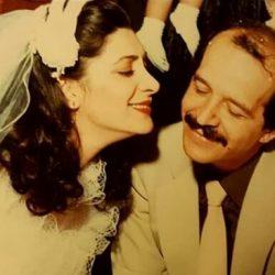 عکسهای عروسی مهوش وقاری و محسن قاضی مرادی