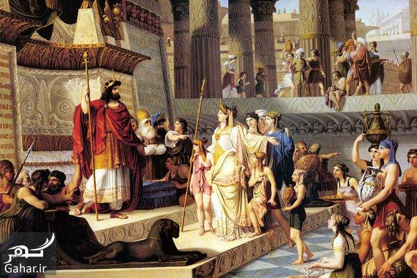 mataleb www.gahar .ir 15.06.97 5 شرح داستان حضرت سلیمان و ملکه سبا