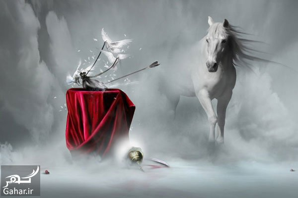 mataleb www.gahar .ir 29.06.97 1 سرنوشت ذوالجناح اسب امام حسین چه شد ؟