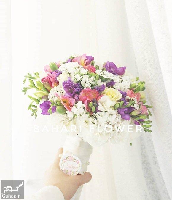 daste gol مدل دسته گل عروس فوق العاده شیک و رویایی / 14 مدل