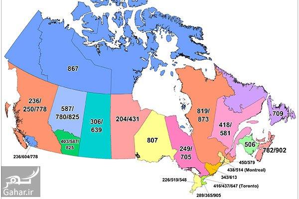 mataleb www.gahar .ir 11.07.97 2 پیش شماره شهرهای کانادا + جدول