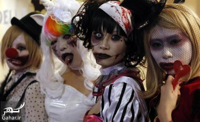 mataleb www.gahar .ir 11.07.97 6 تاریخچه جشن هالووین در کشورهای مختلف