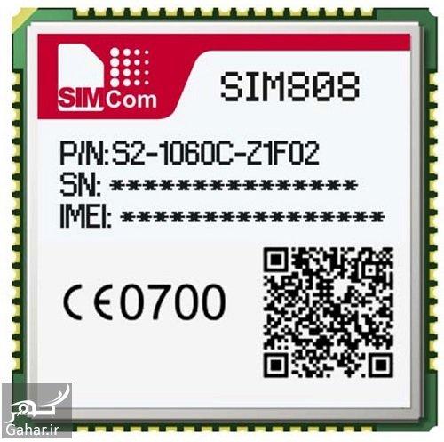 قیمت sim808 ماژول, جدید 1400 -گهر