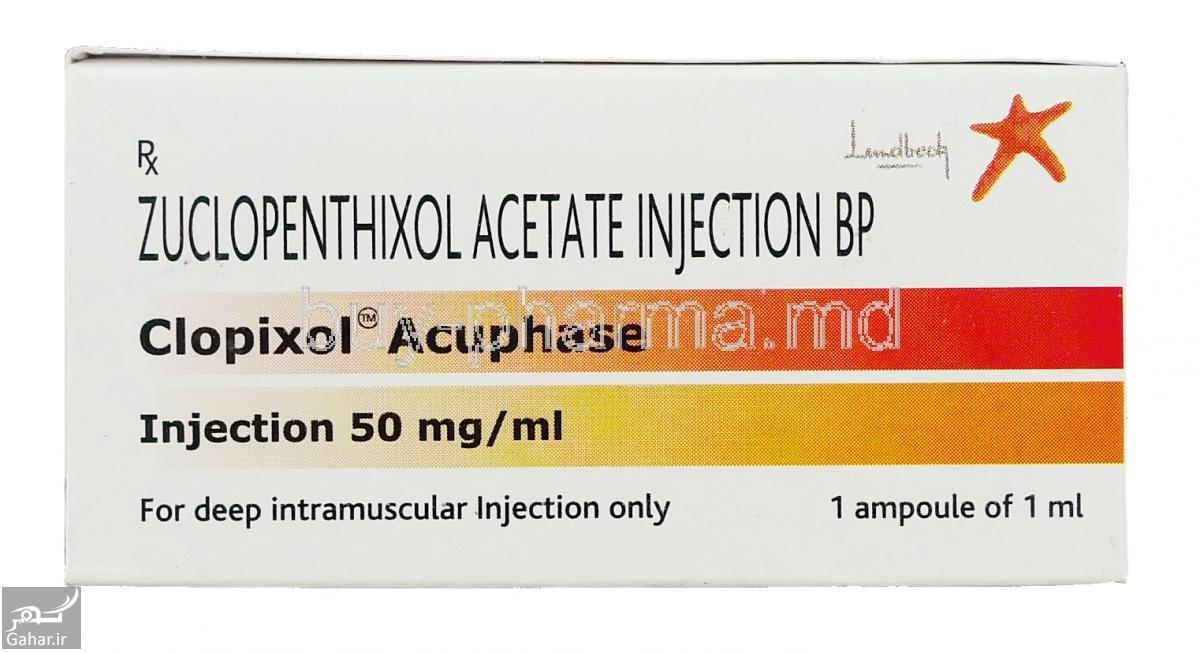 6637 Clopixol Acuphase Zuclopenthixol Acetate Injection Box قرص زوکلوپنتیکسول Zuclopenthixol + موارد مصرف و عوارض زوکلوپنتیکسول