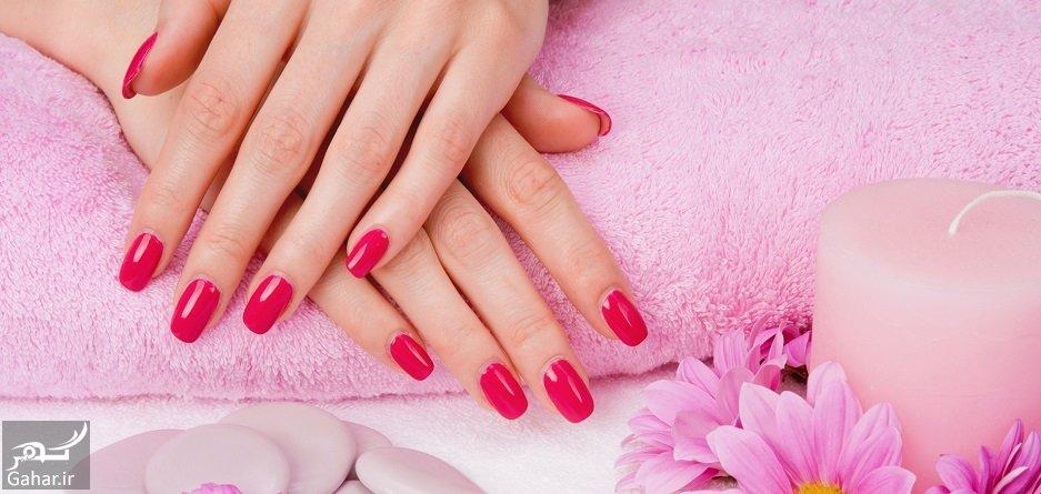 beautiful nails with varnish 11 روش عالی برای تقویت ناخن و افزایش زیبایی آن