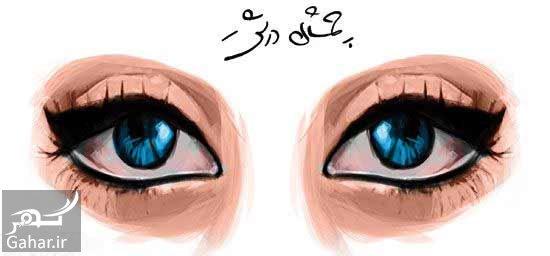 mataleb www.gahar .ir 29.08.97 1 تکنیک هایی برای آرایش چشم های درشت