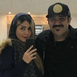 عکس آینه ای مهران غفوریان و همسرش بعد از عمل