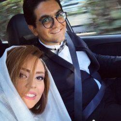 عکس سینا شعبانخانی و همسرش با استایل خاص