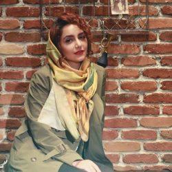 عکس های تبلیغاتی نازنین بیاتی برای برند چرم ایرانی