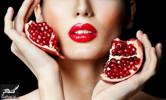 www.gahar .ir 20.08.97 5 خواص انار برای سلامت پوست