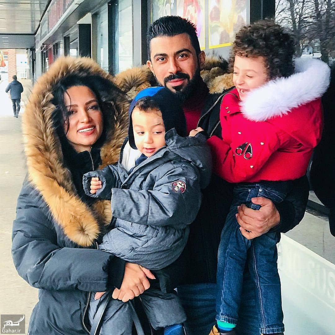 45860983 2183155938562781 4469434979890572065 n عکس خانوادگی روناک یونسی و همسر و پسرانش