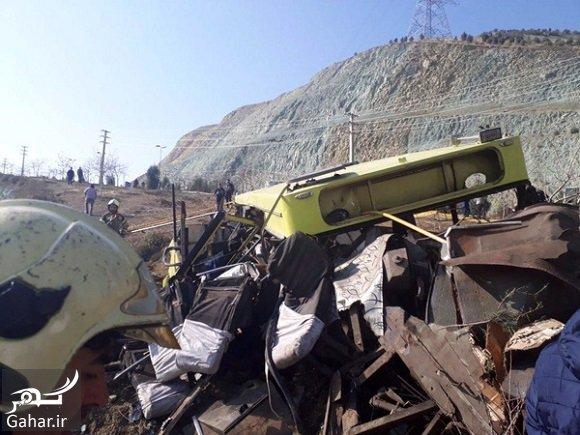 daneshgah hadese جزئیات خبر واژگونی اتوبوس در دانشگاه علوم تحقیقات + اسامی حادثه دیدگان