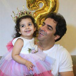 عکسهای جشن تولد دختر یکتا ناصر