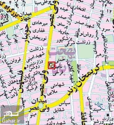 map2 آدرس گمرک غرب تهران