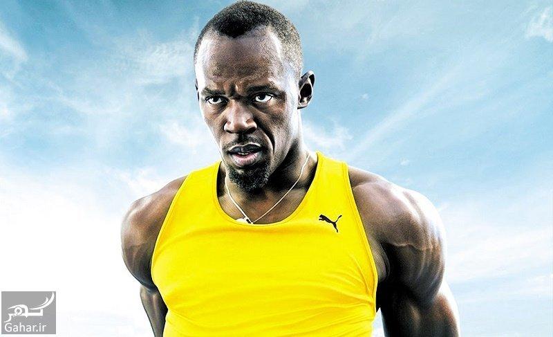mataleb www.gahar .ir 19.09.97 8 بیوگرافی یوسین بولت سریع ترین انسان دنیا