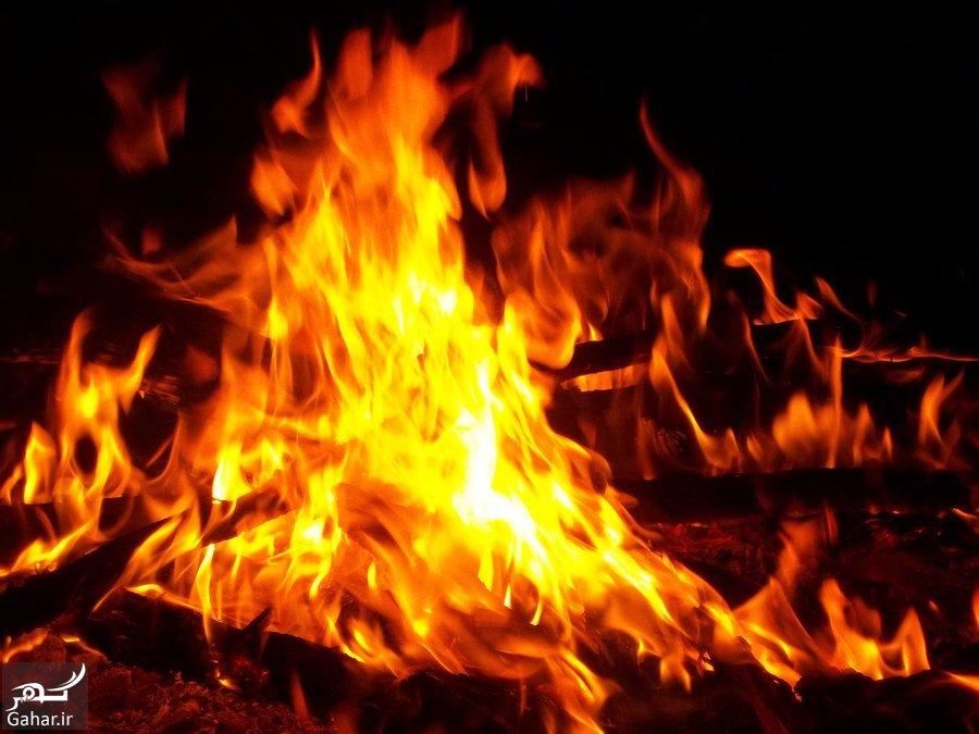 معرفی نکات ایمنی در زمان آتش سوزی, جدید 1400 -گهر