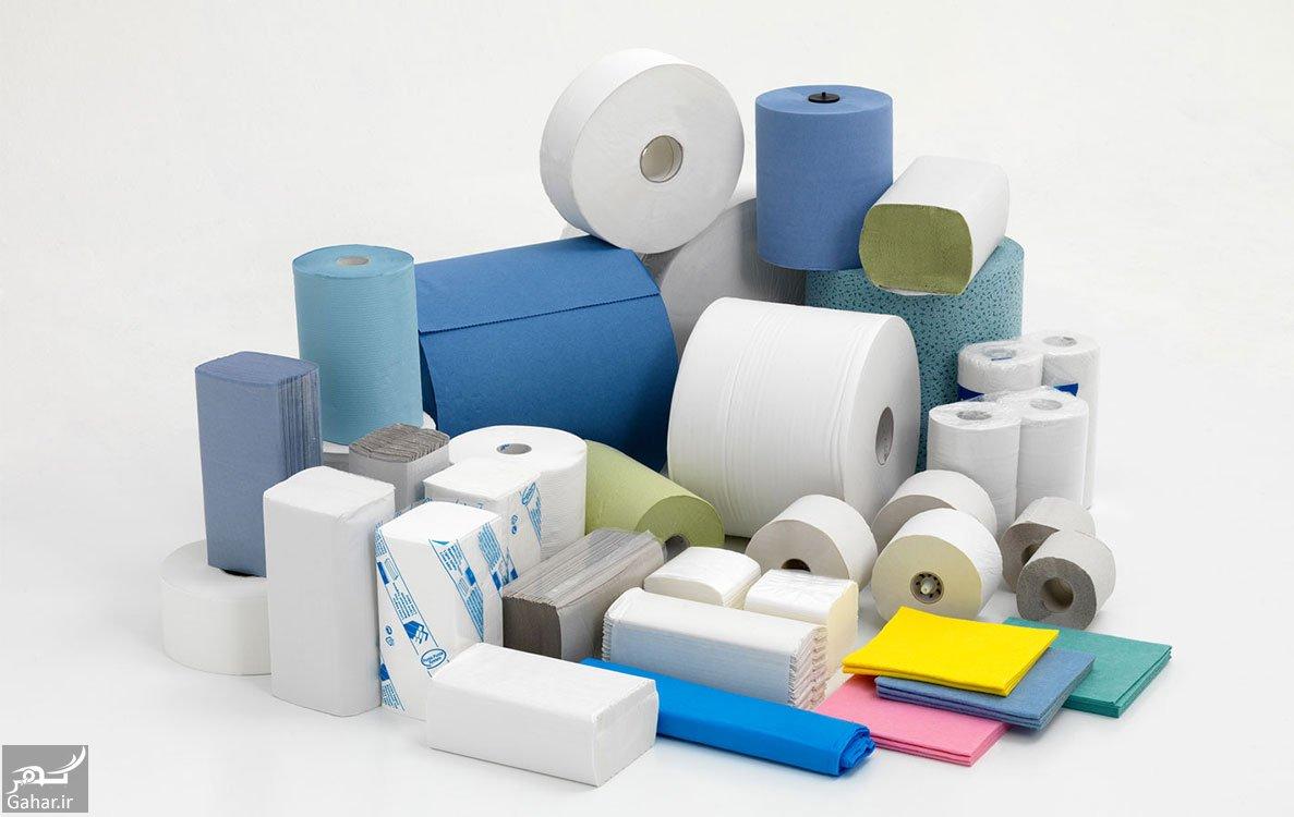 mataleb www.gahar .ir 12.10.97 8 مراحل تولید دستمال کاغذی چگونه است؟