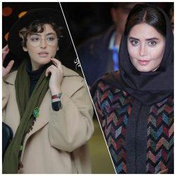 عکسهای بازیگران در اختتامیه جشنواره فیلم فجر ۹۷