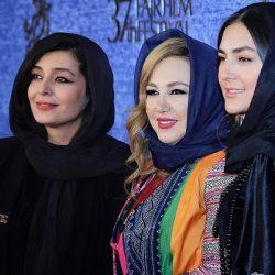 عکسهای بازیگران در روز سوم جشنواره فیلم فجر ۹۷