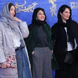 عکسهای بازیگران در اکران فیلم یلدا در جشنواره فجر ۹۷