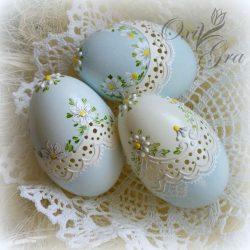 تزیین تخم مرغ هفت سین ، مدل رنگ کردن تخم مرغ عید / ۱۲ عکس, جدید 1400 -گهر