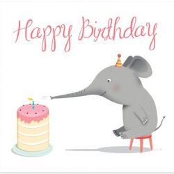 تبریک تولد یک سالگی کودک