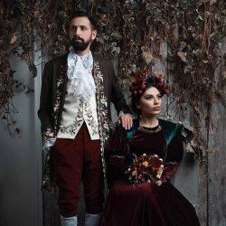 عکسهای خاص محسن افشانی و همسرش در آتلیه