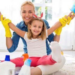 خانه تکانی عید بهترین زمان آموزش نظم به کودکان