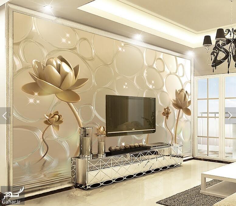 mataleb www.gahar .ir 22.01.98 7 معرفی انواع کاغذ دیواری قابل شستشو