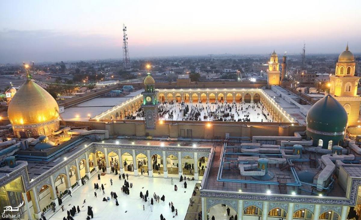 mataleb www.gahar .ir 22.01.98 9 تاریخچه مسجد کوفه ساخته شده توسط حضرت آدم (ع)