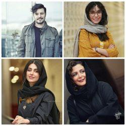 عکسهای بازیگران در جشنواره جهانی فیلم فجر ۹۸ (بخش سوم)