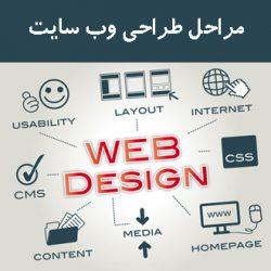 مراحل طراحی سایت چیست؟