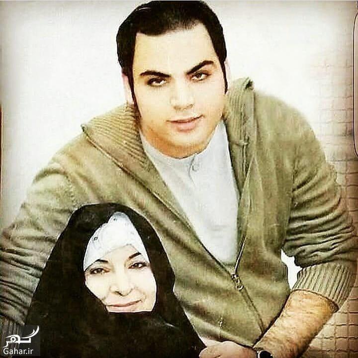 عکس قدیمی از احسان علیخانی و مادرش, جدید 1400 -گهر
