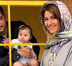عکس جدید شاهرخ استخری و خواهرش و شباهتشان با هم