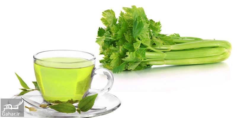 دمنوش چای سبز و کرفس و طرز تهیه آن, جدید 1400 -گهر
