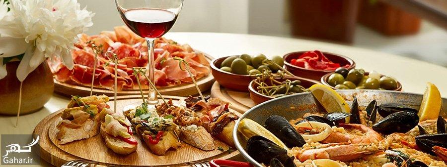 www.gahar .ir mataleb 15.02.98 7 انواع غذاهای اسپانیایی + محبوب ترین غذاهای اسپانیایی