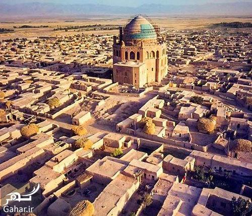 تاریخچه گنبد سلطانیه بزرگترین گنبد آجری جهان, جدید 1400 -گهر