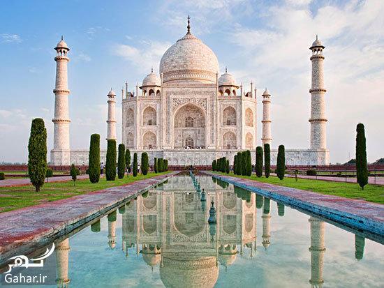 حقایق ناگفته و جالب در مورد معماری تاج محل, جدید 1400 -گهر