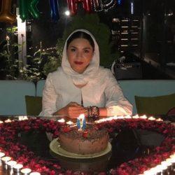 عکسهای جشن تولد ۳۰ سالگی آزاده زارعی