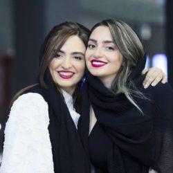 عکس های جذاب گلاره عباسی و نهال دشتی در اکران کارت پرواز
