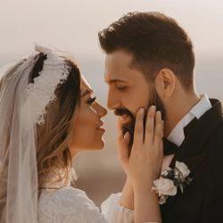 عکسهای آتلیه عروسی محسن افشانی و همسرش