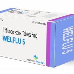 قرص تری فلوئوپرازین برای چیست + عوارض  قرص تری فلوئوپرازین